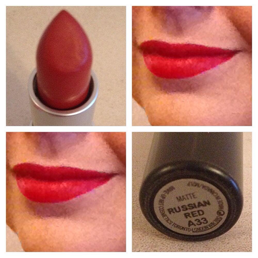 Mac matte leppestift russian red