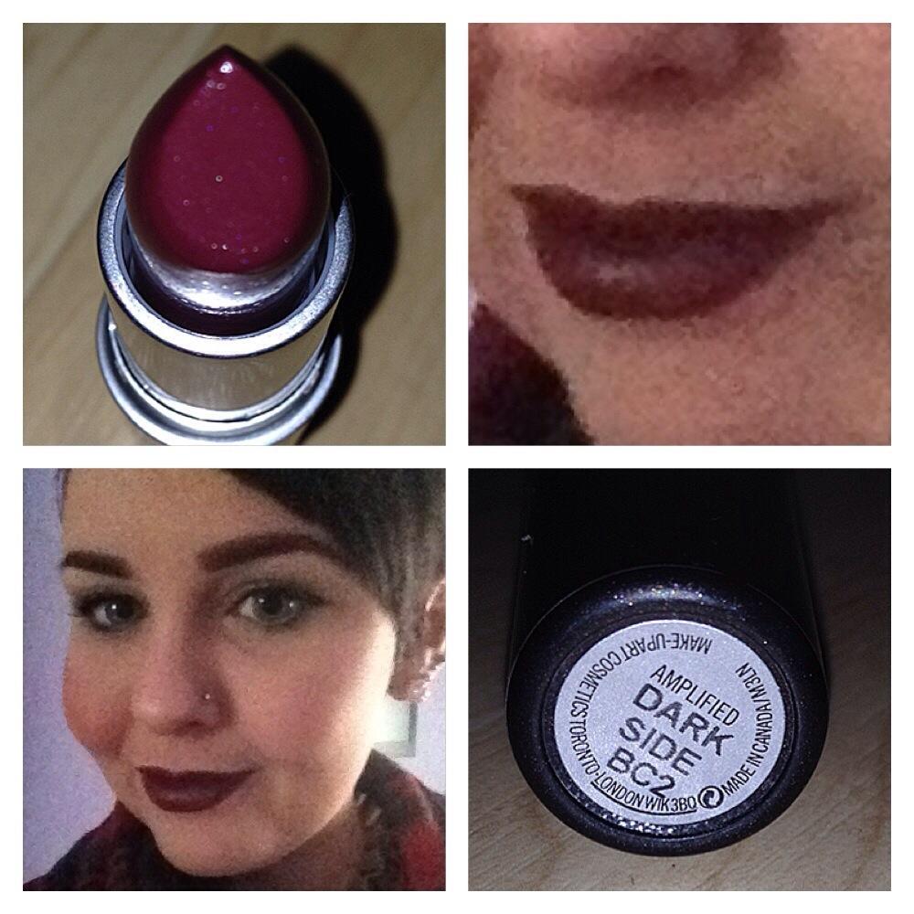 Lipstick Loveliness of the Week - MAC Dark Side. - erinlouisehunt.